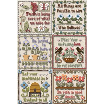 Little House Needleworks - Inspirational Scriptures