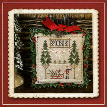 Little House Needleworks - Jack Frost's Tree Farm 6 - Fresh Pines