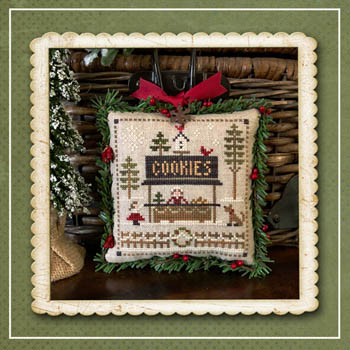 Little House Needleworks - Jack Frost's Tree Farm 7 - Cookies