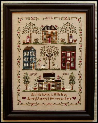 Little House Needleworks - Little House Neighborhood