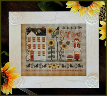 Little House Needleworks - Little Miss Sunflower