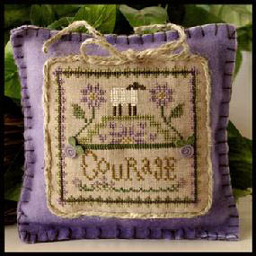 Little House Needleworks - Little Sheep Virtues #4 - Courage