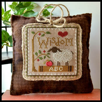 Little House Needleworks - Little Sheep Virtues #8 - Wisdom