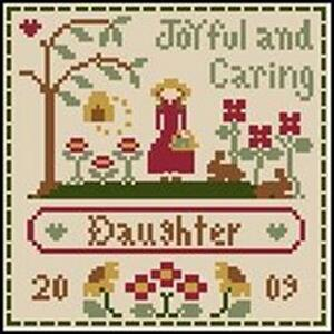 Little House Needleworks - Little Women Virtues - Joyful & Caring