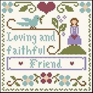 Little House Needleworks - Little Women Virtues - Loving & Faithful