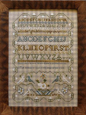 Little House Needleworks - Mary Ann Myers Sampler