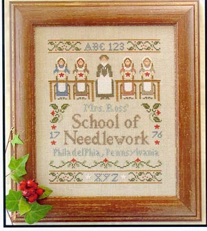 Little House Needleworks - Needlework School
