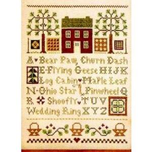Little House Needleworks - Quilt Time Sampler