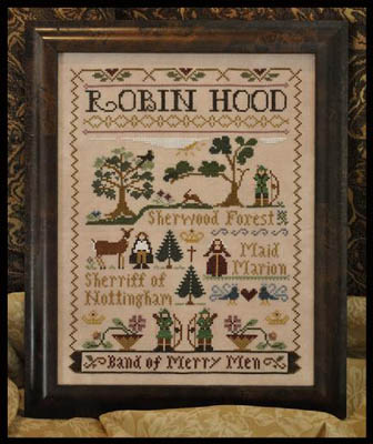 Little House Needleworks - Robin Hood
