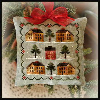 Little House Needleworks - Saltbox Village