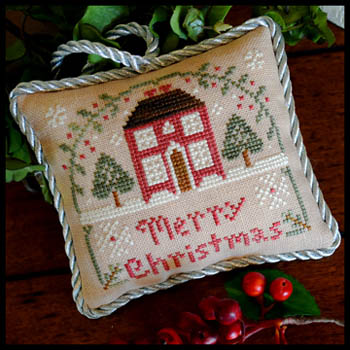 Little House Needleworks - Sampler Tree 10 - Merry Christmas
