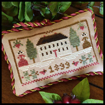 Little House Needleworks - Sampler Tree 11 - Christmas in the Country