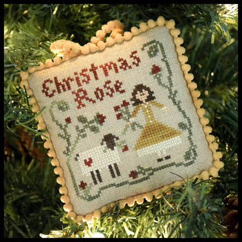 Little House Needleworks - Sampler Tree 4 - Christmas Rose