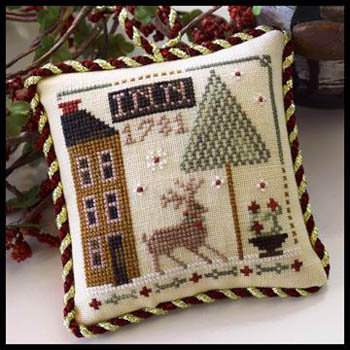 Little House Needleworks - Sampler Tree 5 - Deer Valley Inn