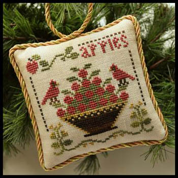 Little House Needleworks - Sampler Tree 6 - Sweet Apples