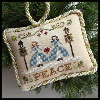 Little House Needleworks - Sampler Tree 7 - Peace