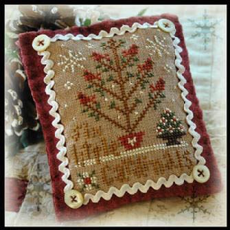 Little House Needleworks - Six Little Cardinals