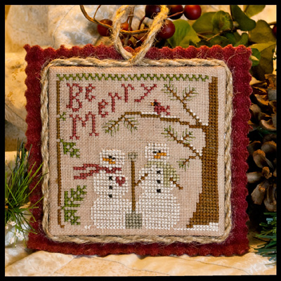 Little House Needleworks - Snow in Love
