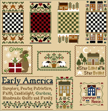 Little House Needleworks - Something Old, Something New
