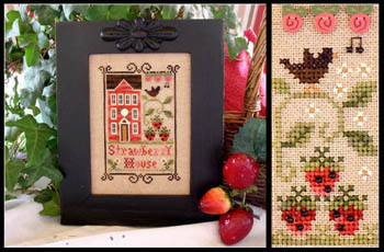 Little House Needleworks - Strawberry House