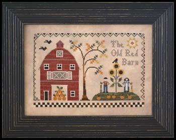 Little House Needleworks - The Old Red Barn