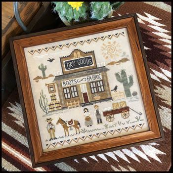 Little House Needleworks - Tumbleweeds - Old West Dry Goods