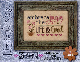 Lizzie*Kate - 3 Little Words - Embrace the Journey