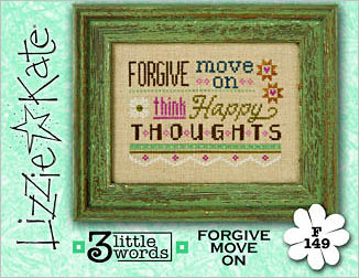 Lizzie*Kate - 3 Little Words - Forgive Move On