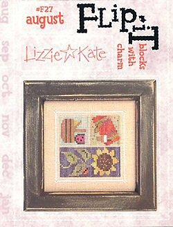Lizzie*Kate - Flip-it Blocks - August