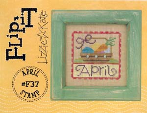 Lizzie*Kate - Flip-it Stamp - April