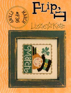 Lizzie*Kate - Flip-it Stamp - March