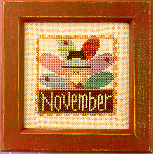 Lizzie*Kate - Flip-it Stamp - November