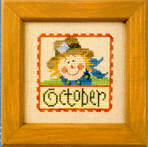 Lizzie*Kate - Flip-it Stamp - October