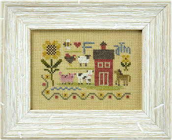 Lizzie*Kate - Flora McSample Farm Sampler