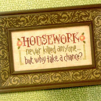Lizzie*Kate - Housework Never Killed Anyone