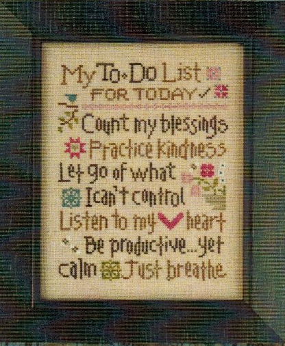 Lizzie*Kate - My To Do List