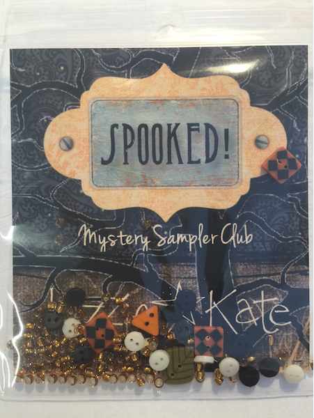 Lizzie*Kate - Spooked! Mystery Sampler - Embellishment Pack