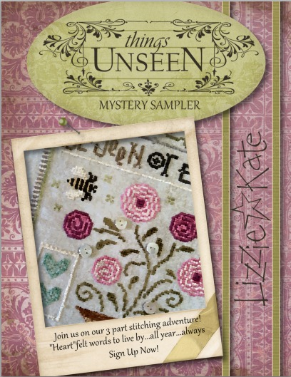 Lizzie*Kate - Things Unseen Mystery Sampler - Part 3