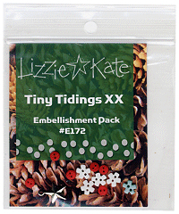 Lizzie*Kate - Tiny Tidings XX Embellishment Pack