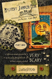 Lizzie*Kate - Very Scary Halloween Mystery Sampler - Part 1