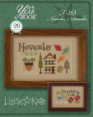 Lizzie*Kate - Yearbook Double Flip - November and December