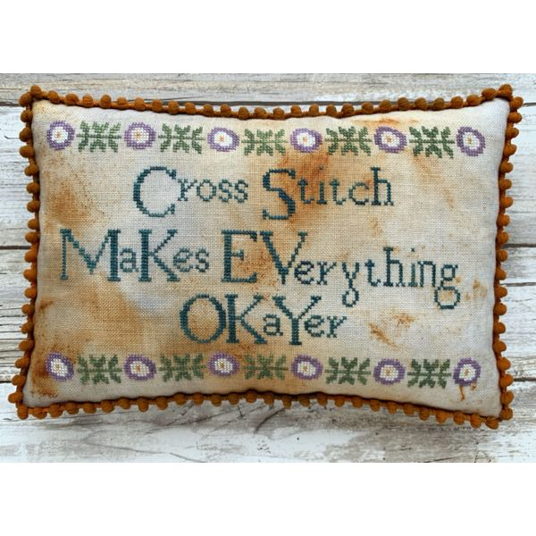 Lucy Beam - Cross Stitch Makes Everything Okayer