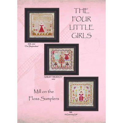 Mill on the Floss Samplers - The Four Little Girls