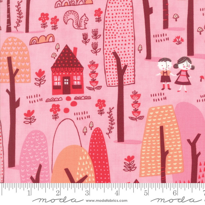 Moda - Just Another Walk in the Woods - Forest Pink 20521-12