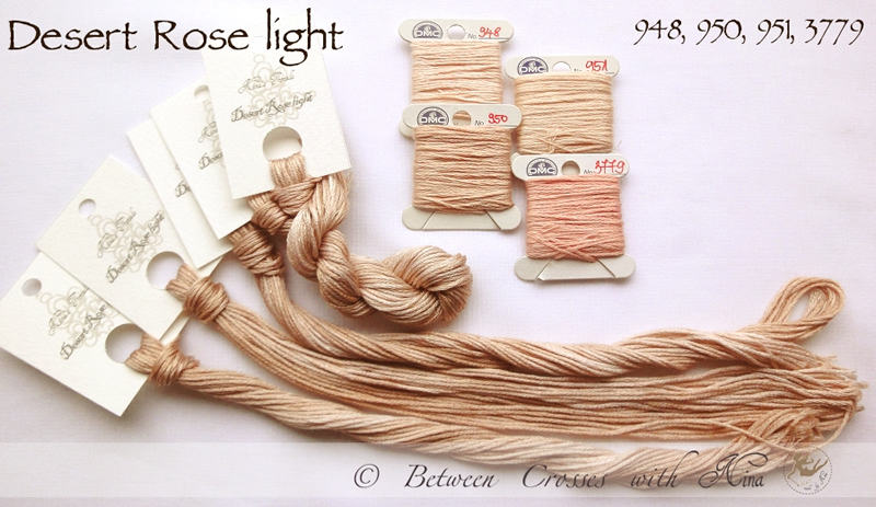 Nina's Threads - Desert Rose Light