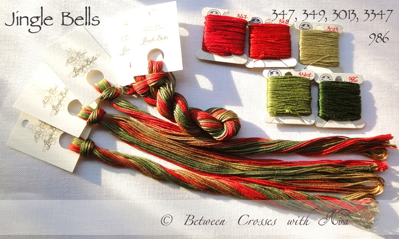 Nina's Threads - Jingle Bells