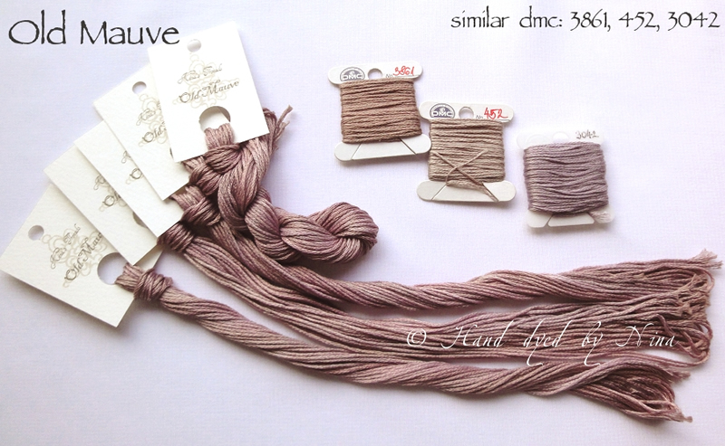Nina's Threads - Old Mauve