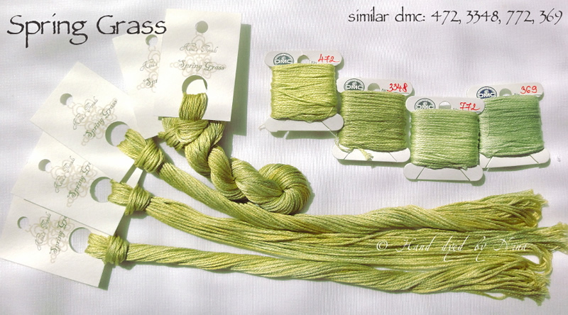 Nina's Threads - Spring Grass