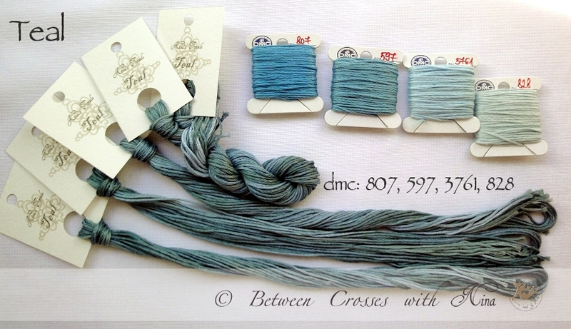 Nina's Threads - Teal