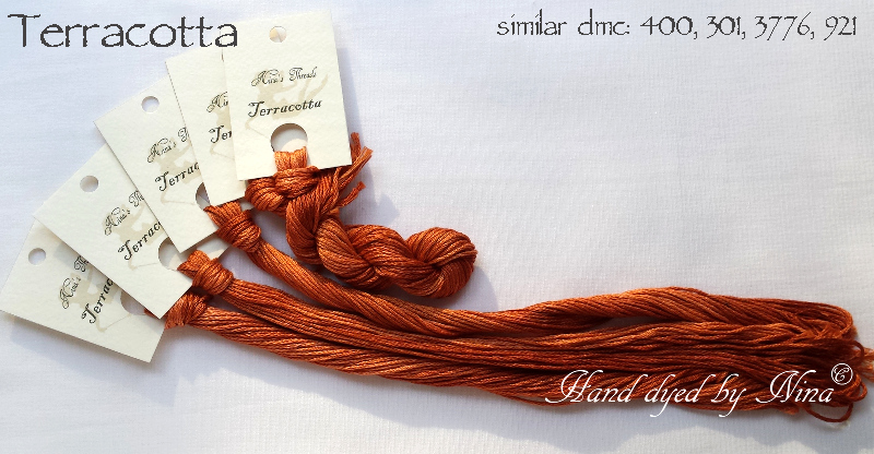 Nina's Threads - Terracotta